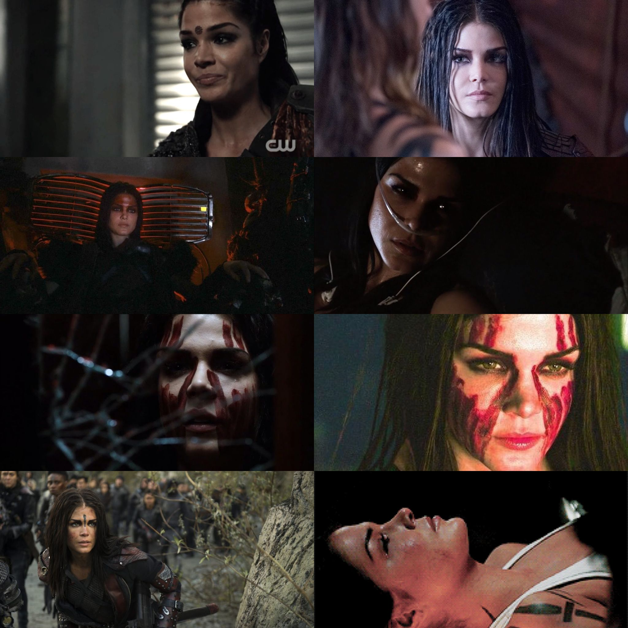 The Many Stages Of Octavia Blake The 100 The 100 Season 1 American Series