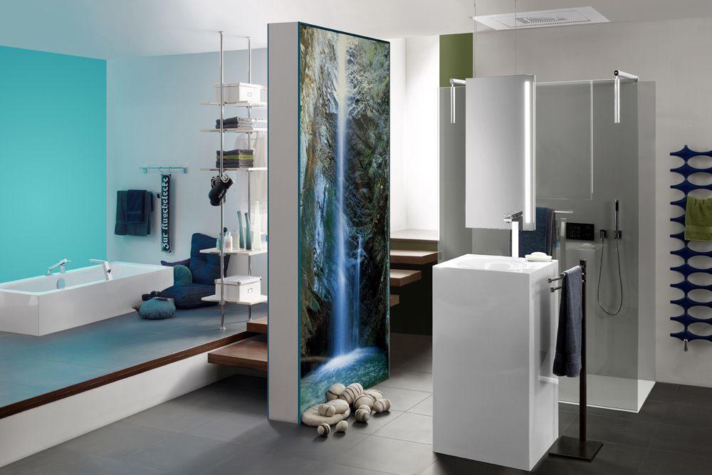 Offenes Badezimmer mit unserem freihängenden DUO #duo ...