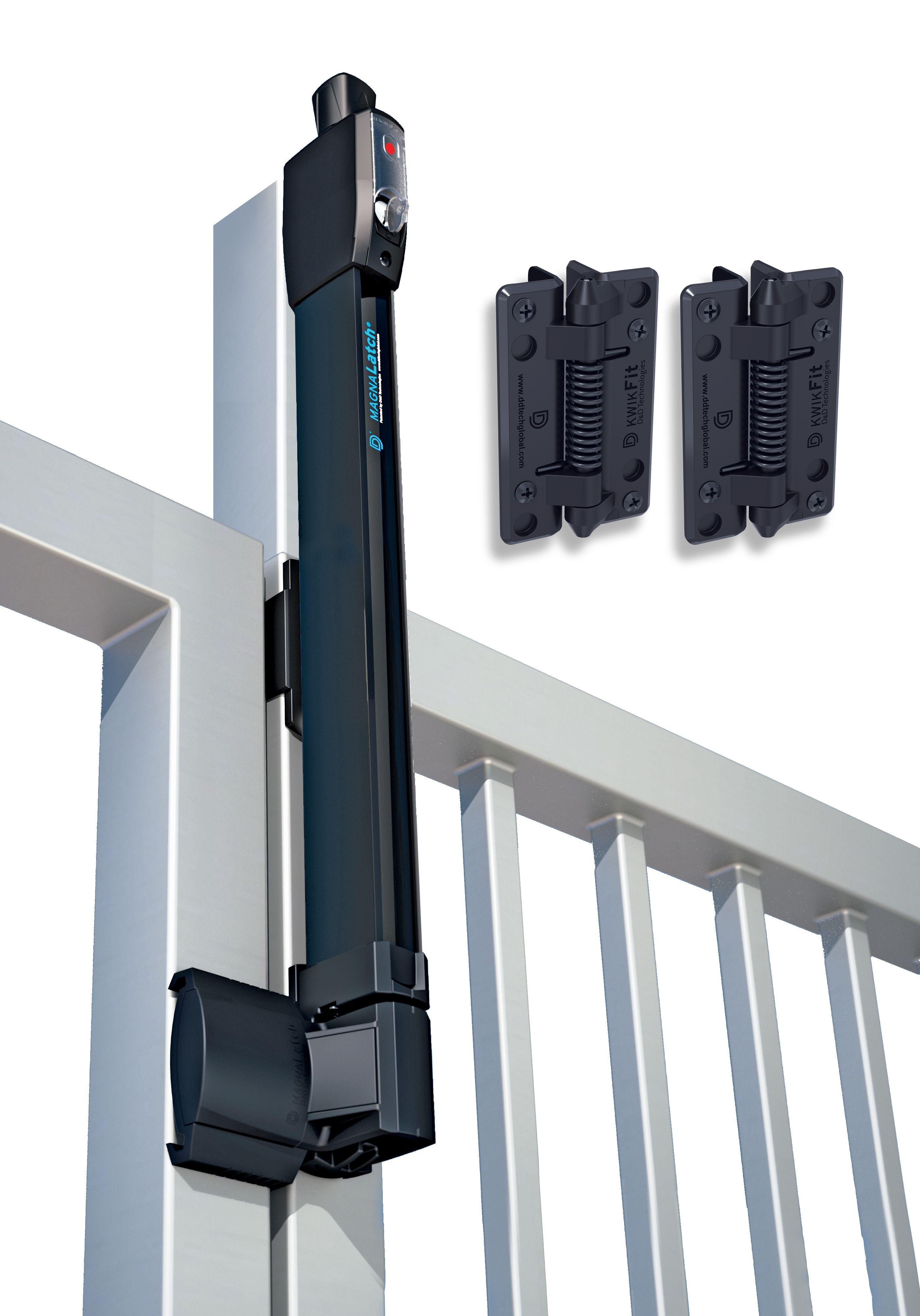 Dd technologies magnalatch pool gate safety latch lock