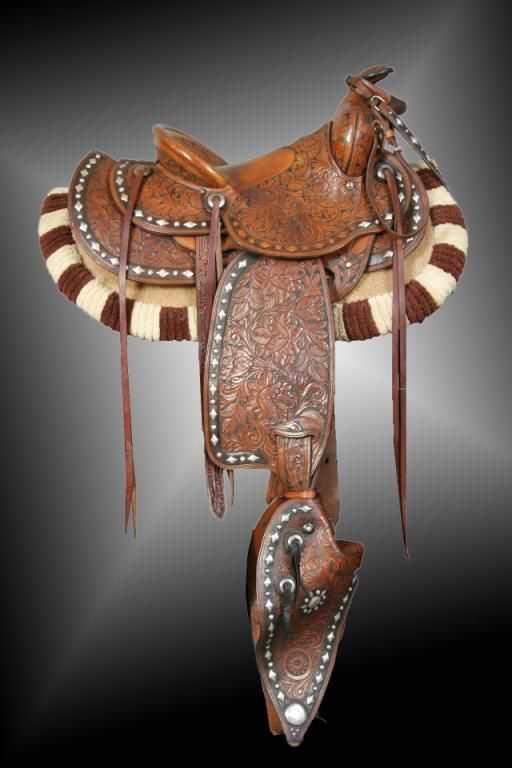 Pin by Loriann Dealba on vintage silver saddles | Western