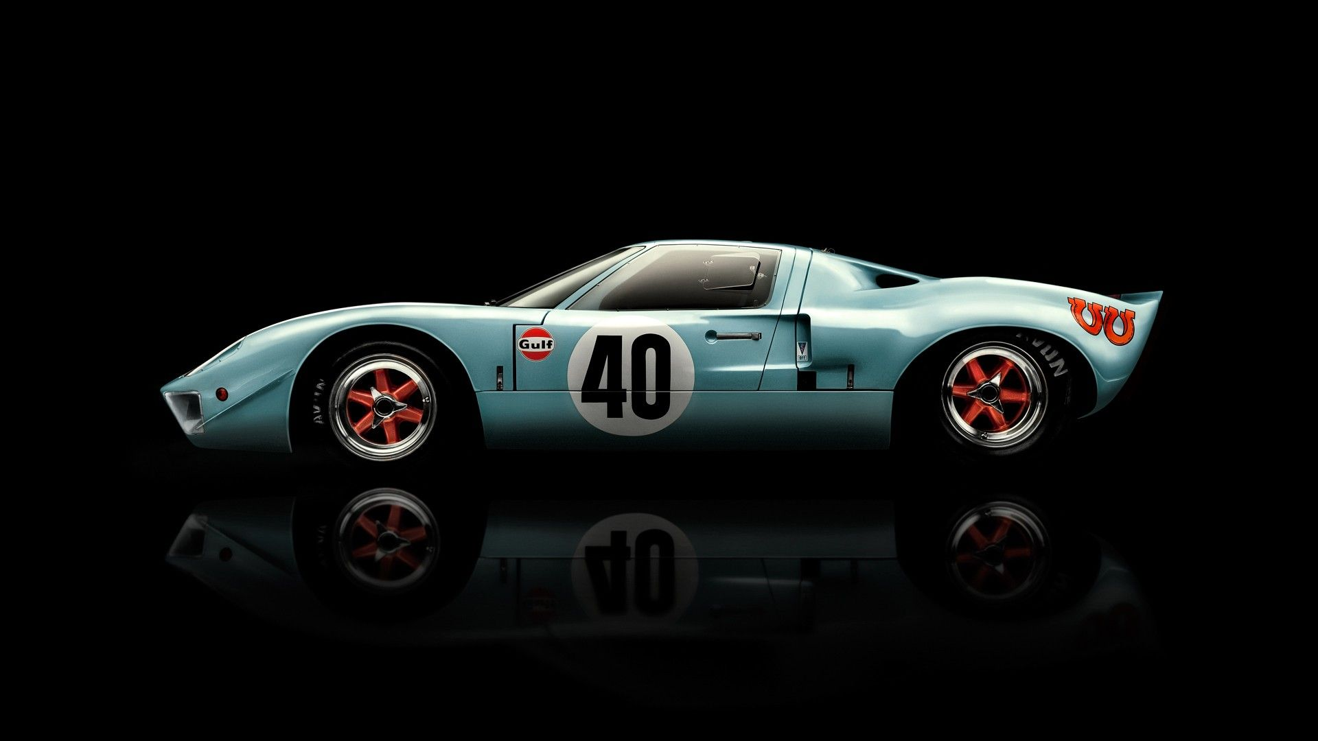 1968 Ford Gt 40 Wallpaper Ford Gt40 Ford Racing Gt40