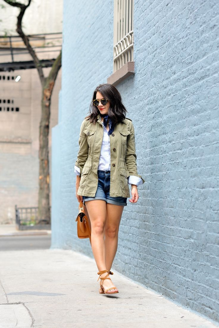 Banana Republic Jacket, fall layered outfit ideas, How to wear a neck scarf, My Style Vita - @mystylevita