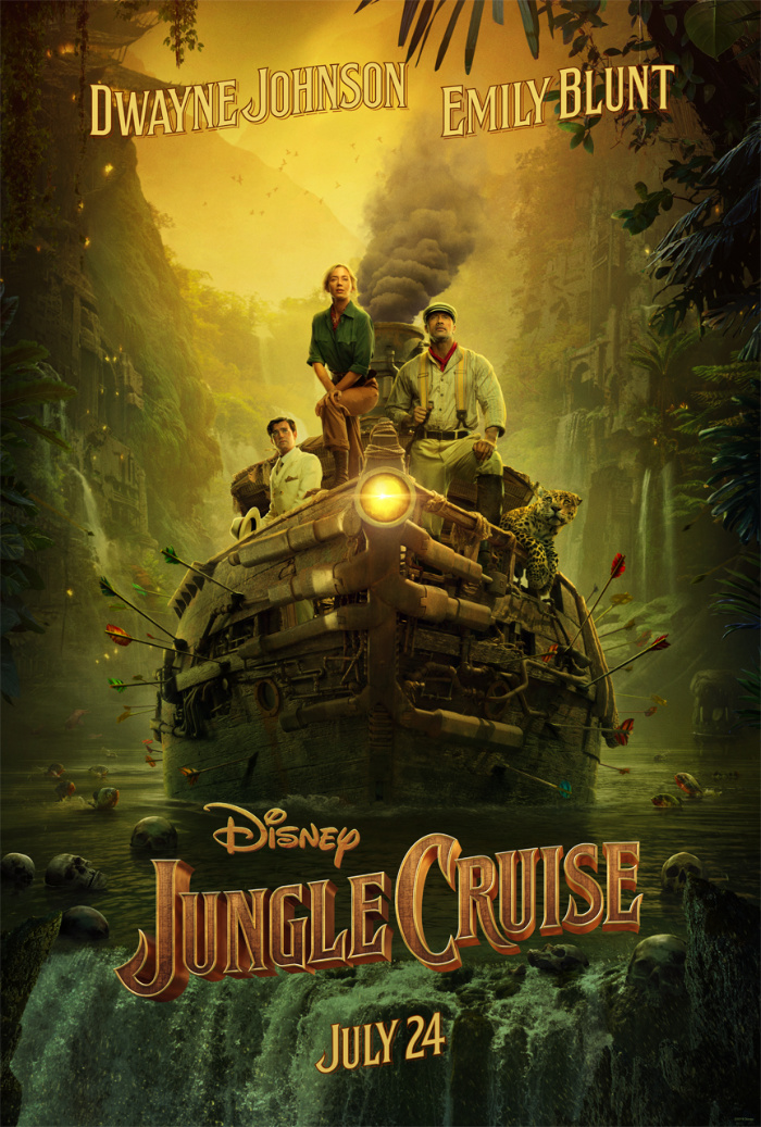Disney S Jungle Cruise Teaser Trailer Poster Now Available Junglecruise Jungle Free Movies Online Full Movies Online Free