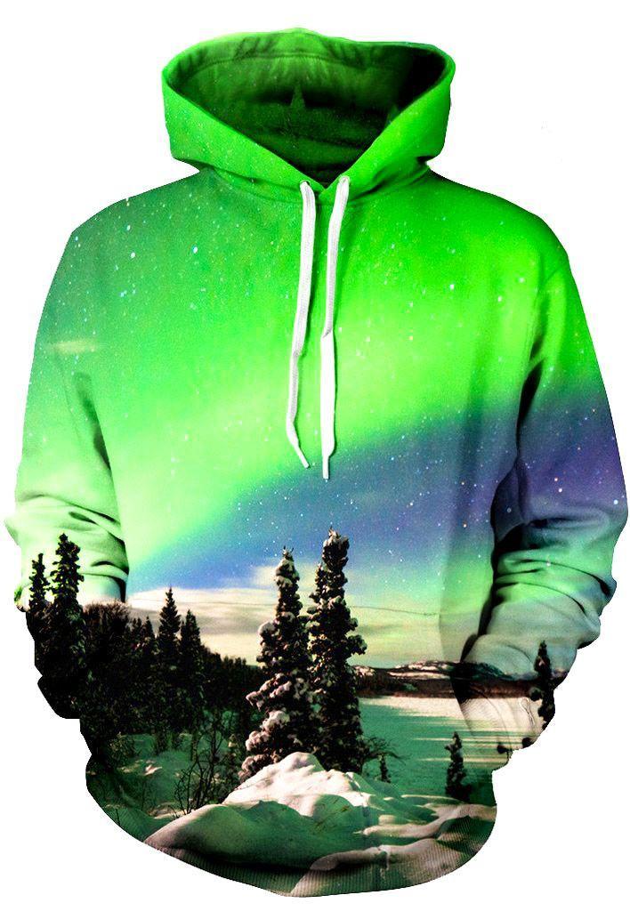 Aurora Glow Unisex Hoodie