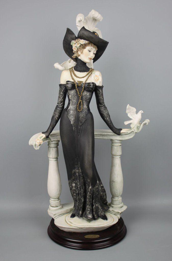 Giuseppe Armani Figurine 337c Quot Spring Morning Quot Armani Figurines Porcelain Jewelry Porcelain