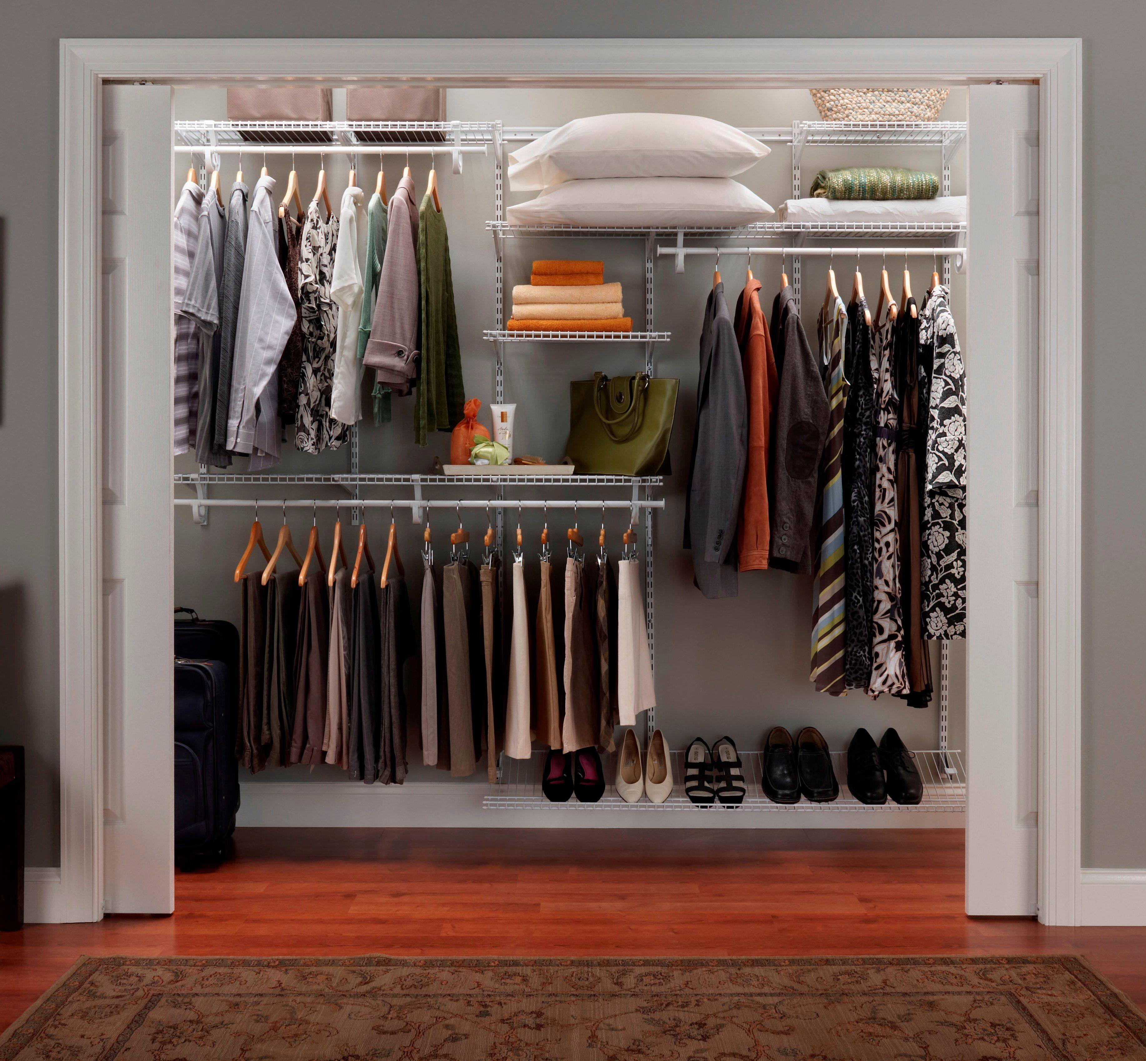 Storganization Blog Responsibly And Locally Made Closet Organizer Kits Home Depot Closet Storage Closet Organization