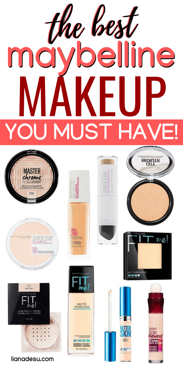 Best Of Maybelline Top 10 Products Liana Desu Maybelline Makeup Products Maybelline Makeup Best Drugstore Makeup