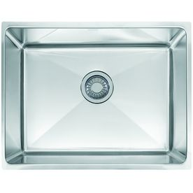 Franke Professional 17 625 In X 22 5 In Single Basin Stainless