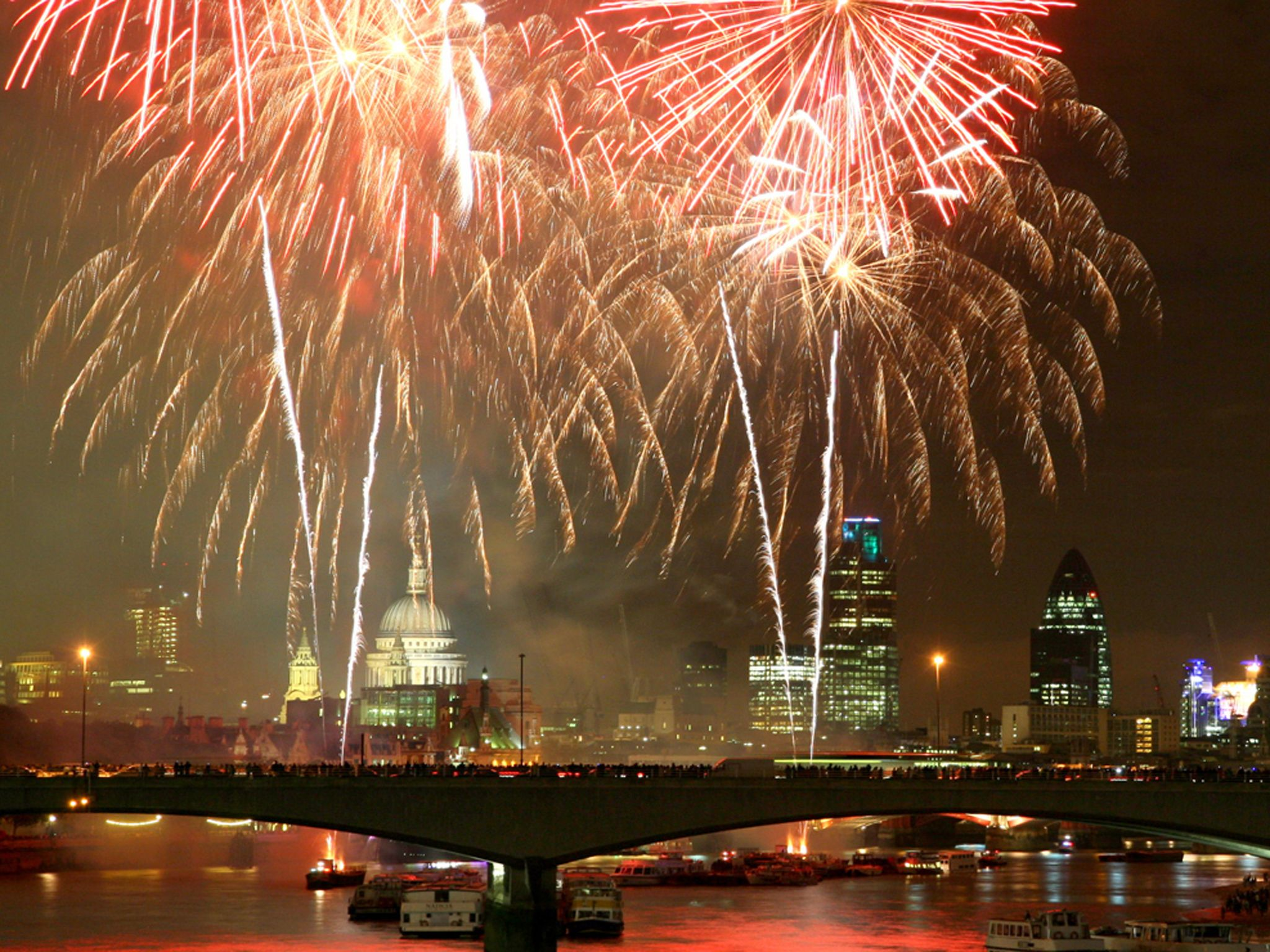 New Year's Eve Fireworks in London how to get tickets