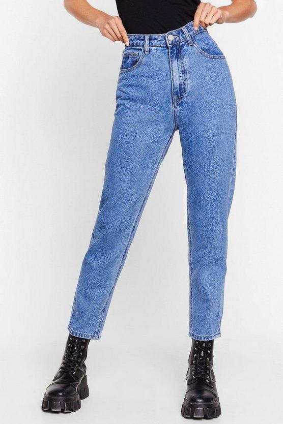 High Power High-Waisted Mom Jeans   Nasty Gal