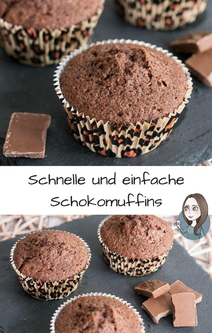 Einfache Schokomuffins Grundrezept Makeitsweet De Schokomuffins Kuchen Und Torten Rezept Kekse