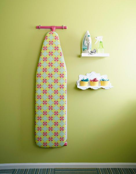 Cute wall shelves!