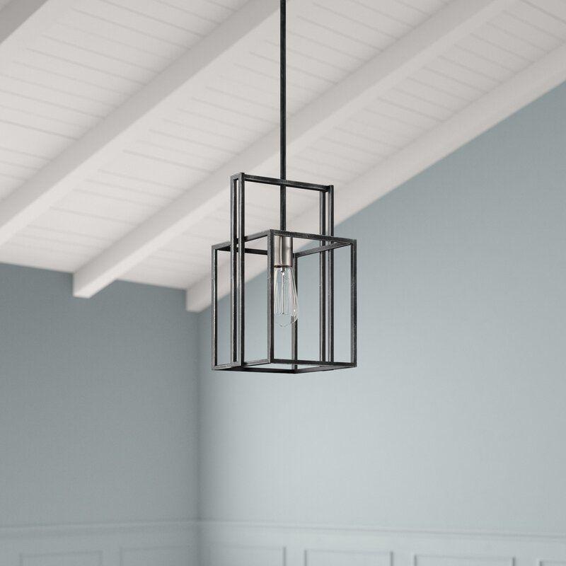 Cresthill 1-Light Geometric Pendant & Reviews | Joss & Main