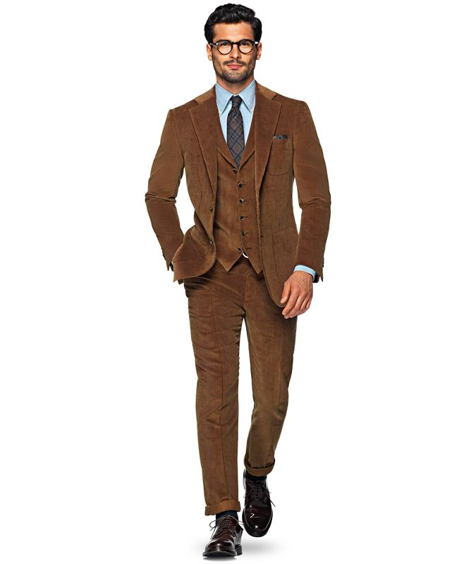 Lovely young man with great brown corduroy suit | dudes in ...