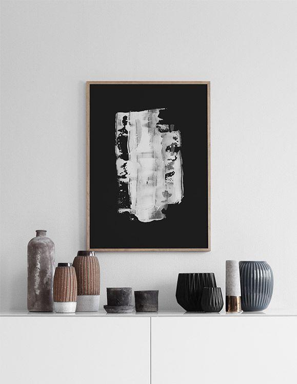 White paint, julisteet ryhmässä Julisteet  / Mustavalkoiset @ Desenio AB (8605)
