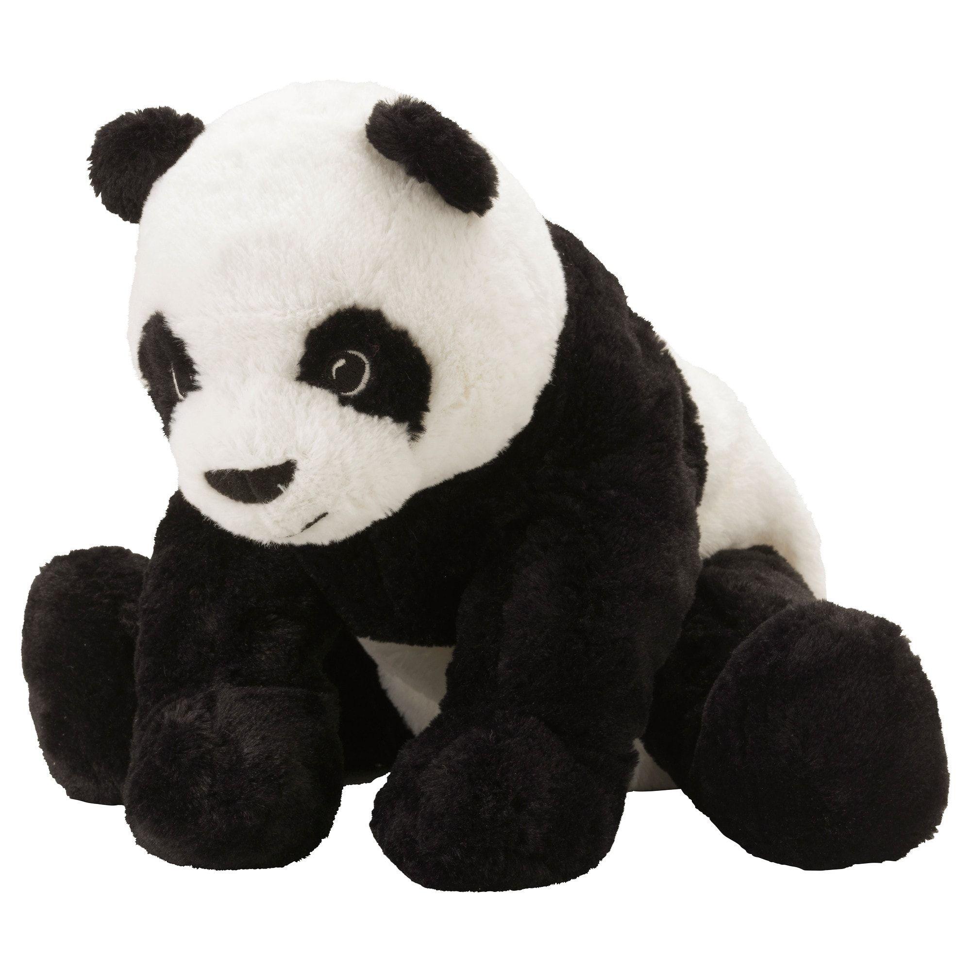 Ikea Kramig White Black Soft Toy Panda Stuffed Animal Panda