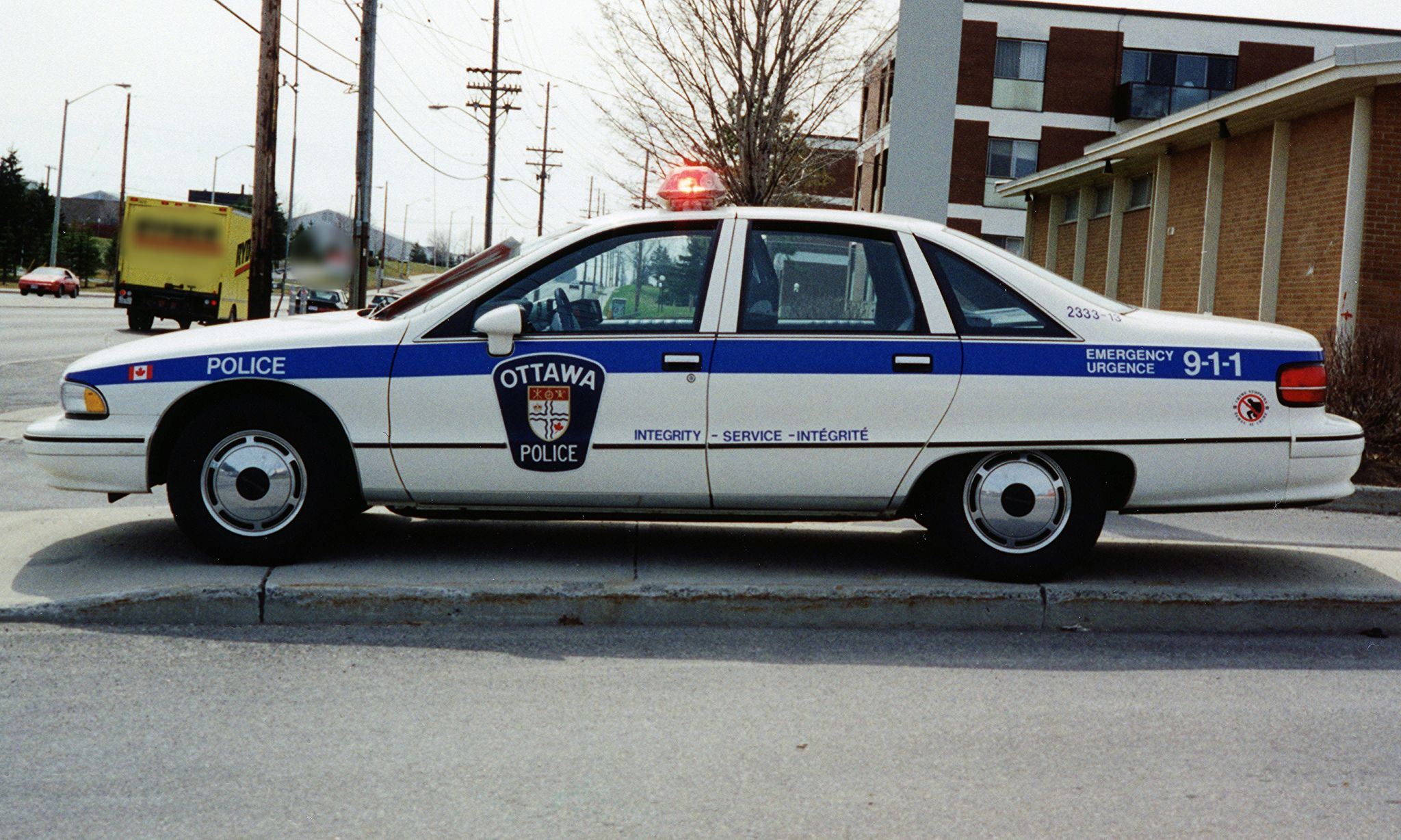 Chevrolet Caprice 1991 Ottawa Police Department Police Cars