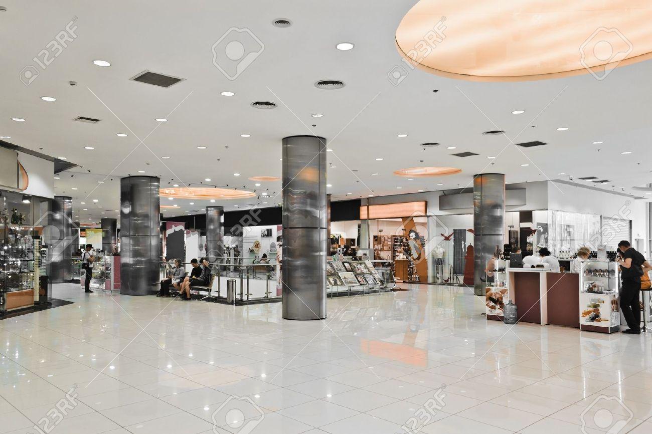 Column design mall interior google columns for Interior design shopping