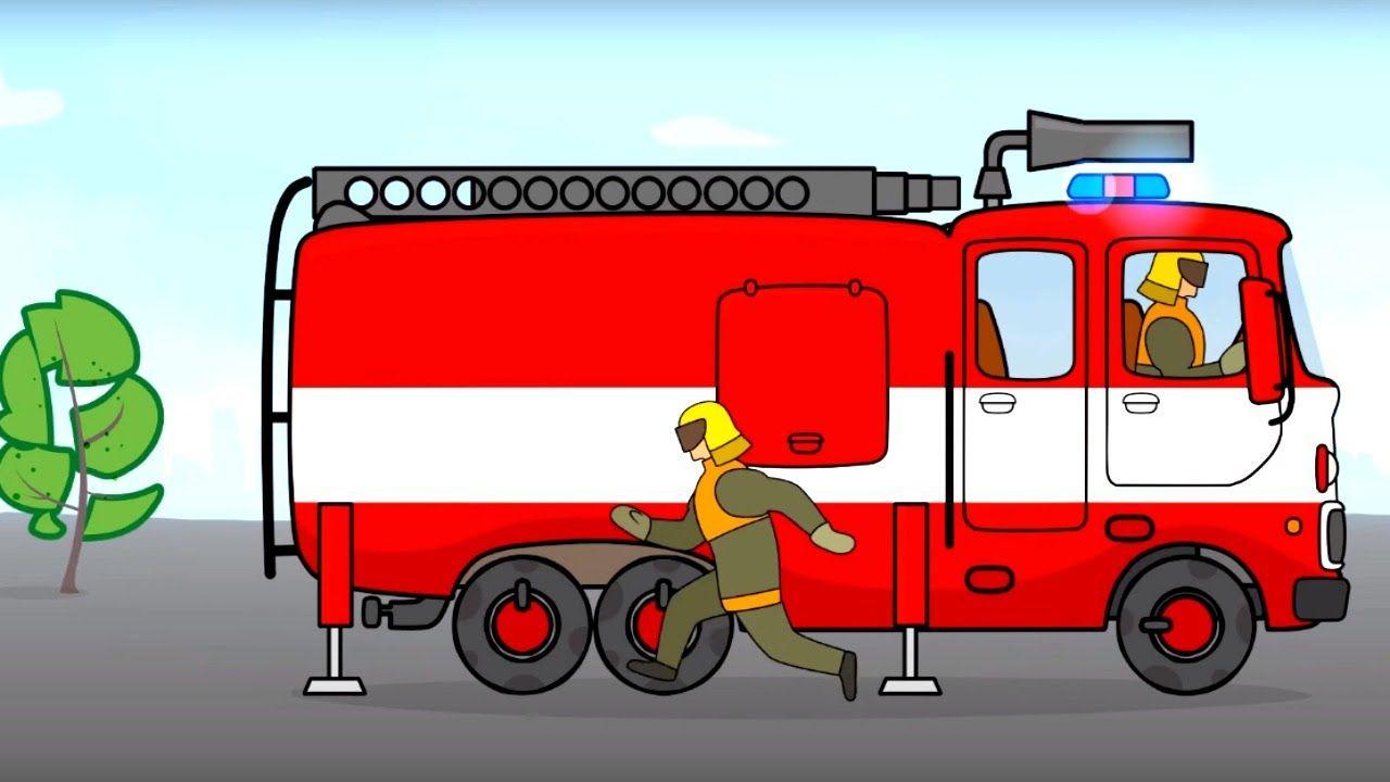 Excepcional Colorear Camión De Bomberos Imagen - Ideas Creativas ...