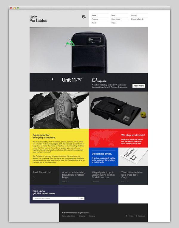 Web Design Tile Layout | Tile Design Ideas