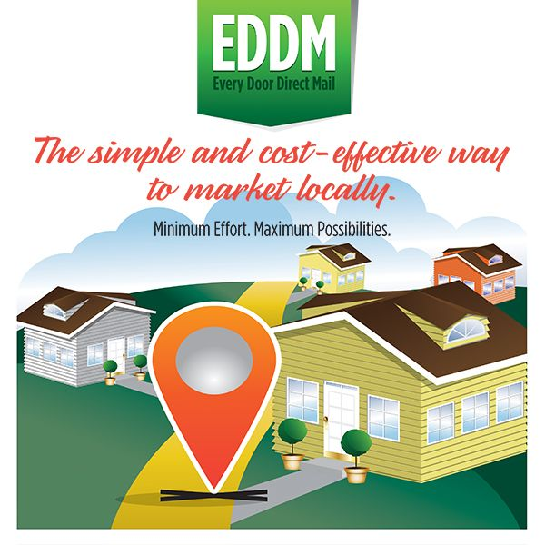 Why Every Door Direct Mail Will Work For Your Business Usps E D D M 24hr Printing Fast Turn Aroun Printing Business Cards Direct Mail Marketing Campaigns