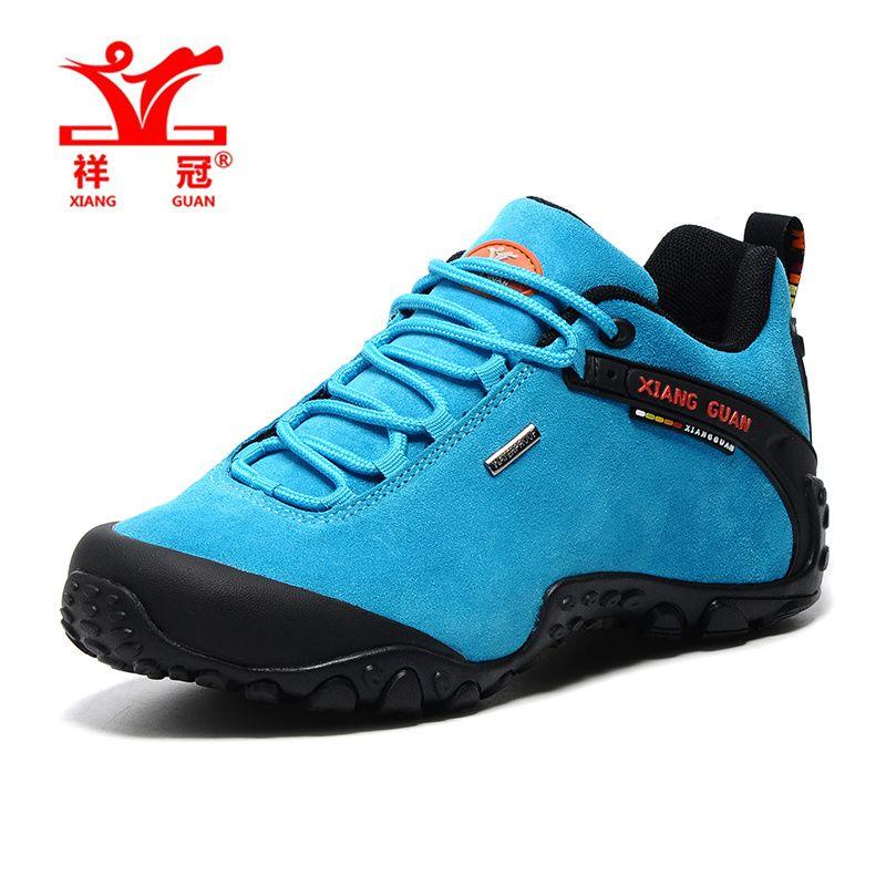 a116bb35308fa XiangGuan trekking shoes women Outdoor hiking shoes female waterproof  zapatillas trekking hombre winter sport shoes size 36-39