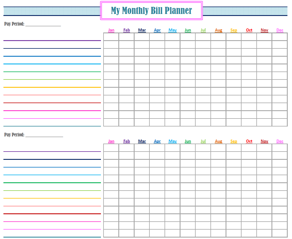 Gold Project Bill Planner