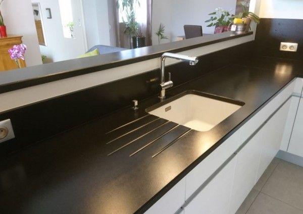 Rehausser La Couleur Vos Plans De Travail En Granit Noir Satine Plan De Travail Granit Granit Noir Design De Cuisine Moderne