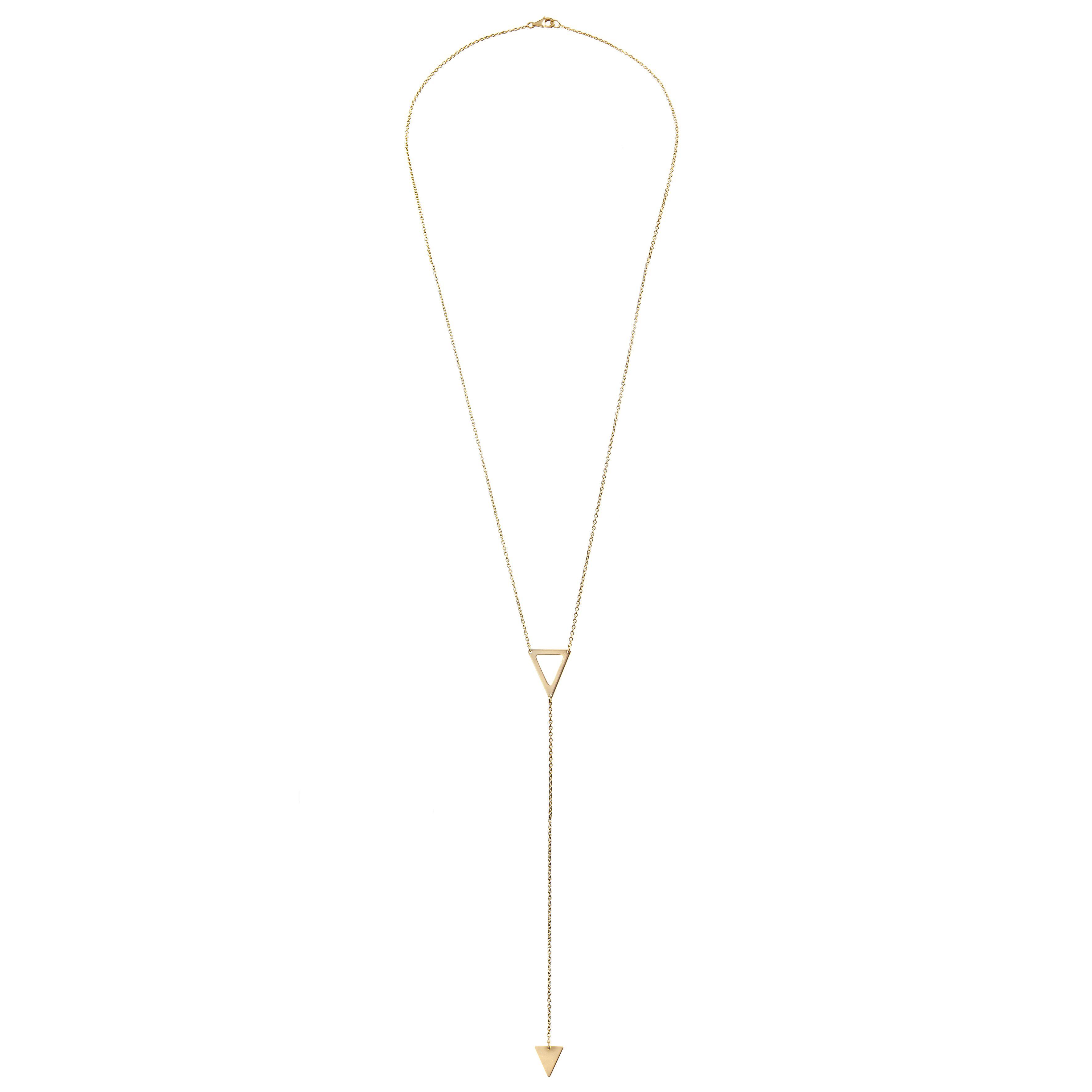 Gigi necklace by Les Soeurs, 925 silver gold plated, 60cm