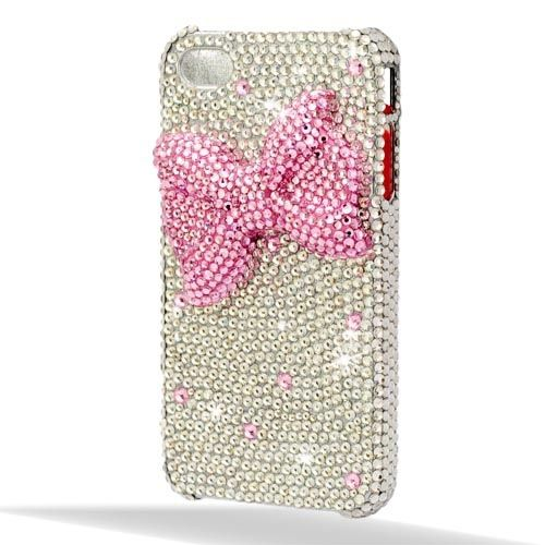Crystals Cute Bowknot Back Cover Back Protective Case For iPhone4/4S Crystals Cute Bowknot Back Cover Back Protective Case For iPhone4/4S [200048] - US$25.16 : Aladdinmart