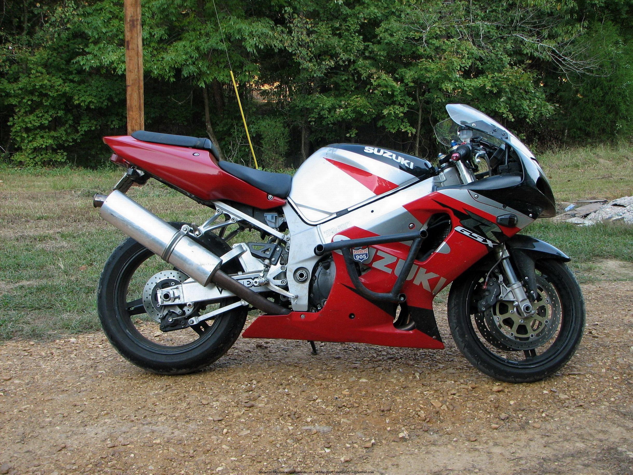 2001 Suzuki GSX-R750