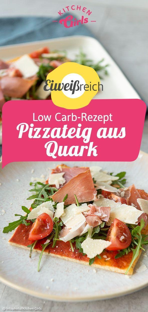 Low Carb Recipe Quark pizza dough