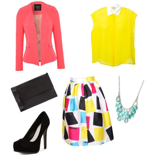 Colourful outfit