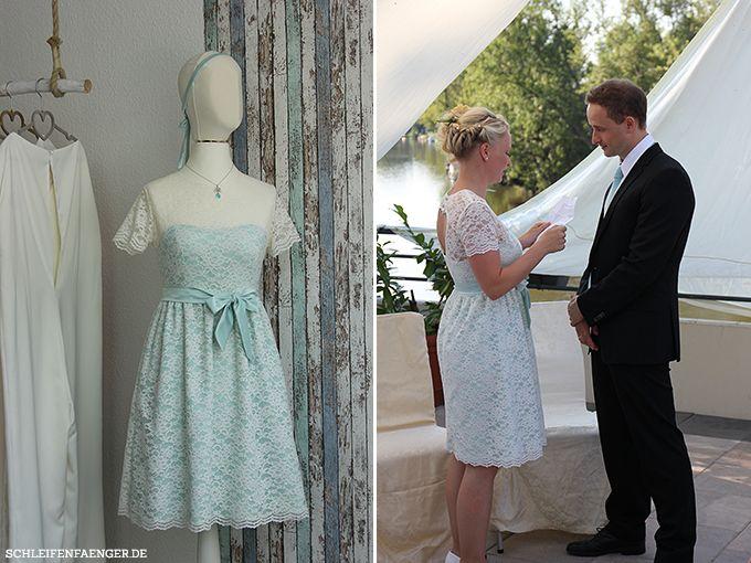 Constanze heiratet Martin im Brautkleid Annelies von Schleifenfänger ...