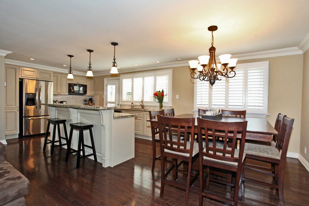 kitchen dining room combo | home | Pinterest