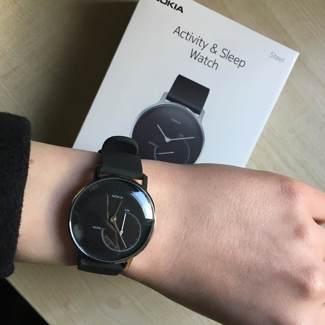 So I Decided To Invest In A New Watch Which Is Little Bit Extra Like Me Bought The Nokia Health Couple Of Days Ago And Far Im