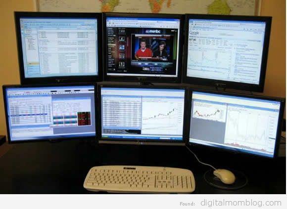 Dear Digital Mom Help My Husband Wants Another Monitor Computer Computer Room Monitor