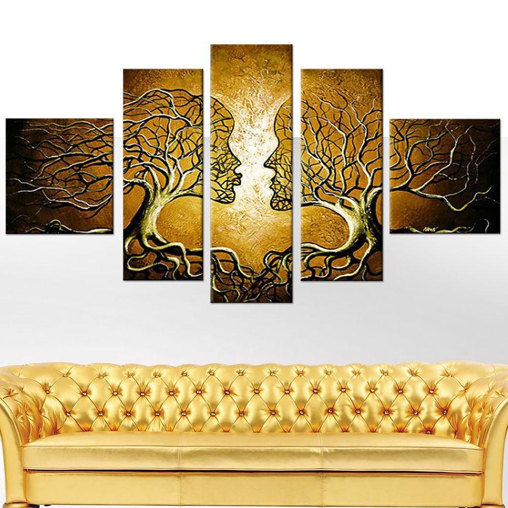 li>Title: Human Tree hand-painted 5-piece set </li> <li>Product type ...
