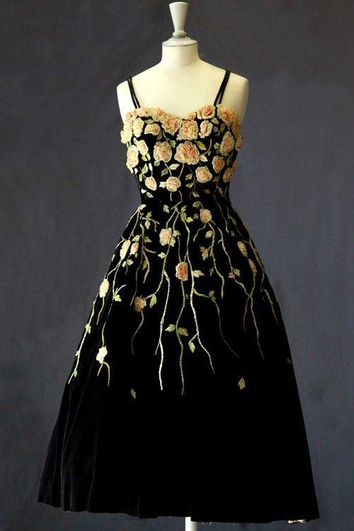 59569647 judith-orshalimian: Pierre Balmain vintage gown, 1953 :) | the