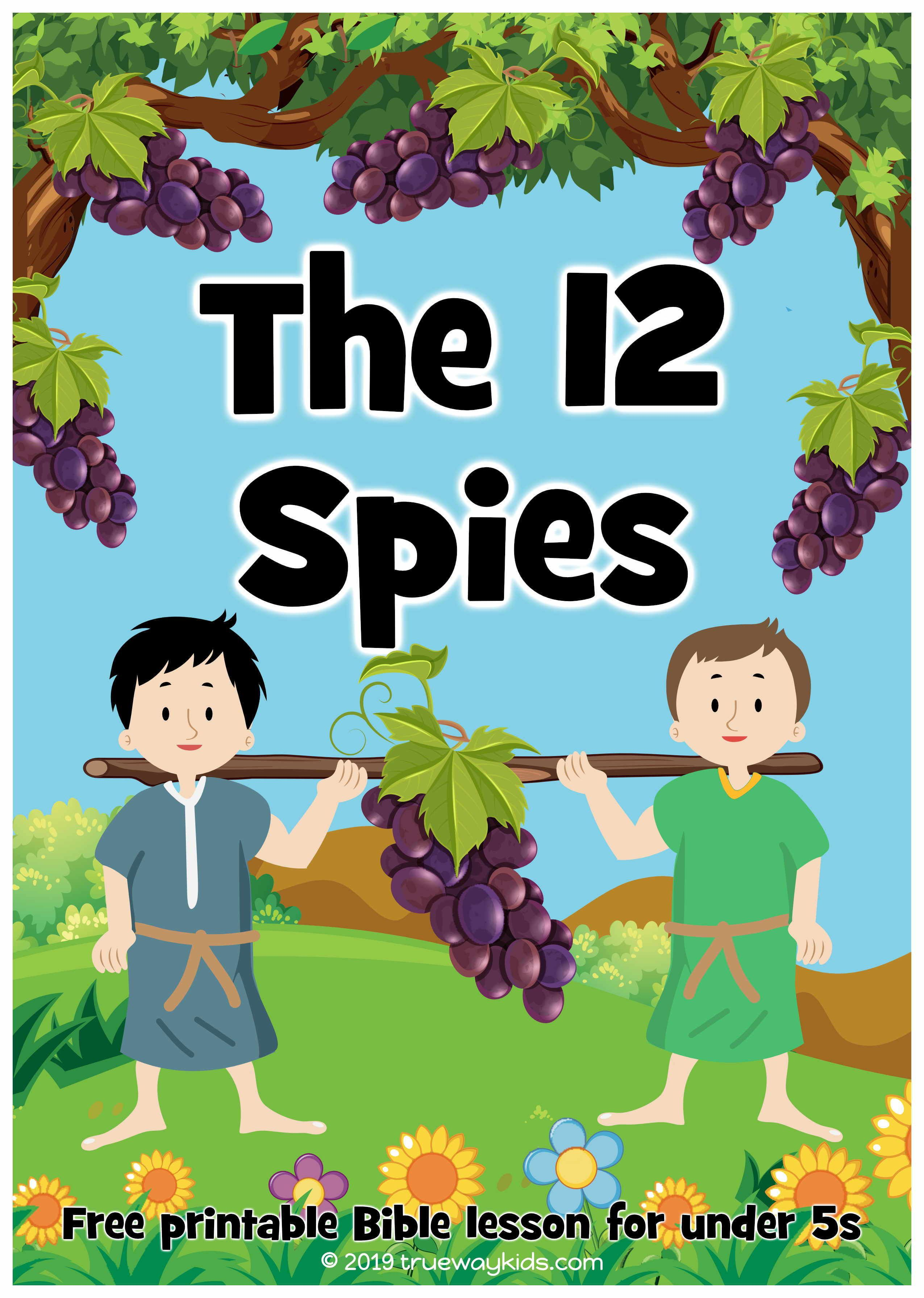 The 12 Spies And The Promised Land