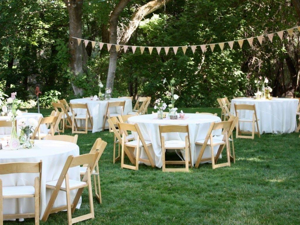 Image of: Ideas 14 Stunning Backyard Wedding Decorations ...