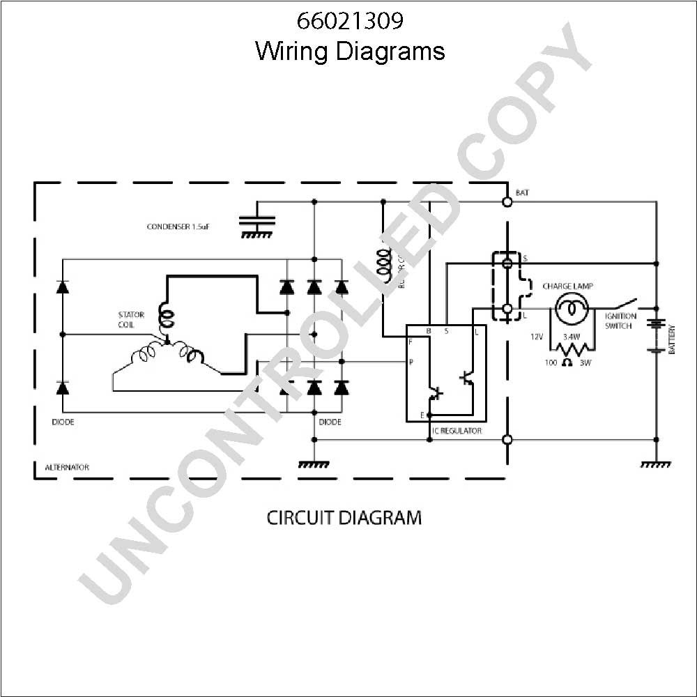 Reyhan Blog: Bosch Alternator Wiring Schematic