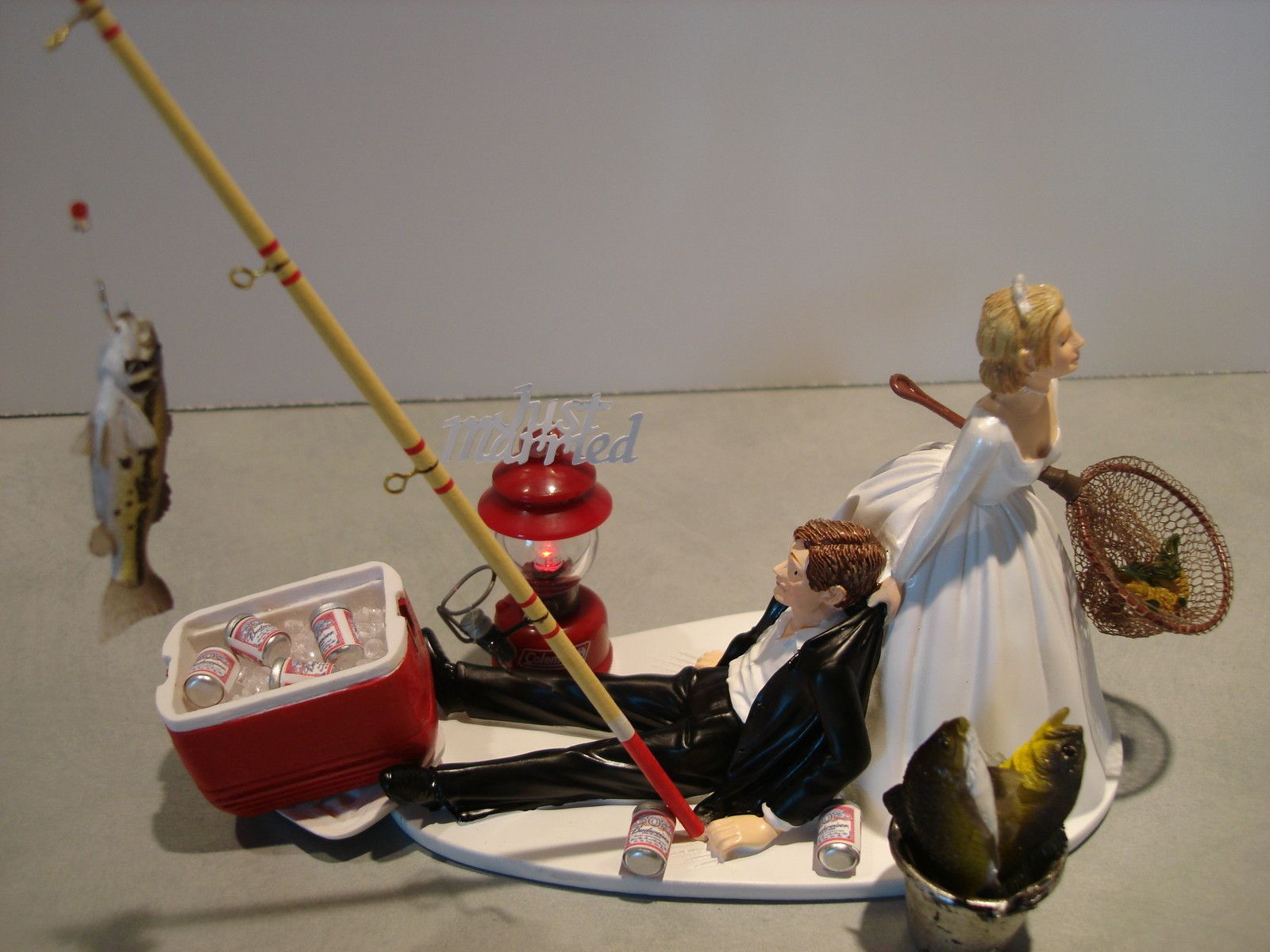 Fishing Wedding Cake Toppers #39691 | theweddingplans.net | what ...