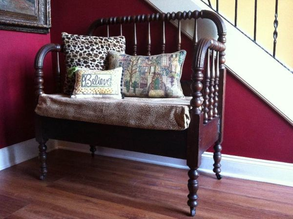 Pleasant Antique Spool Jenny Lind Bench Could Possibly Make One Ocoug Best Dining Table And Chair Ideas Images Ocougorg