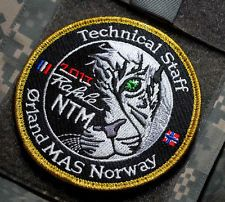 NATO TIGER MEET 2007 ARCTIC NATO TIGER MEET ORLAND MAS NORWAY 2007 NATO  PATCH