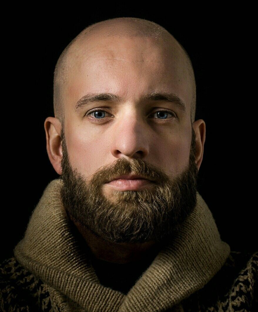 pin by mr wolf on beard bald men with beards bald with. Black Bedroom Furniture Sets. Home Design Ideas