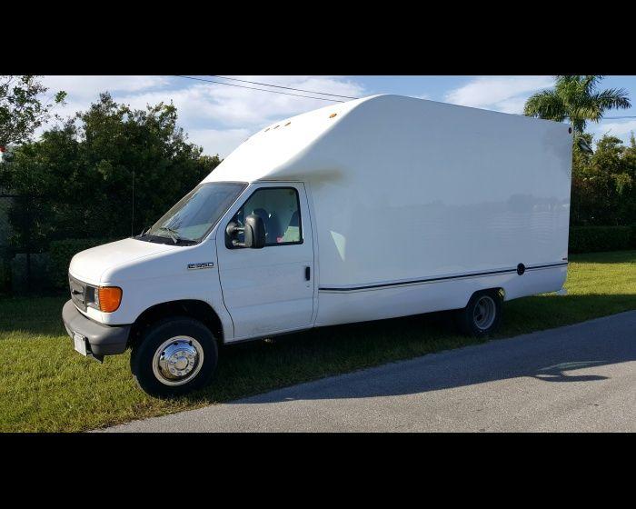 2007 FORD E350 14FT BOX TRUCK , http://www.afetrucks.com/light-duty-trucks---van-trucks-box-trucks---cutaway-cube-2007-ford-e350-14ft-box-truck-used-pinellas-park-fl_vid_35811_rf_pi.html