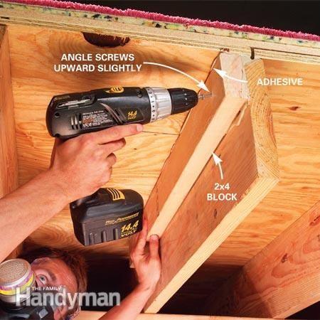 How To Fix Squeaky Floors Fix Squeaky Floors Squeaky Floors Finishing Basement