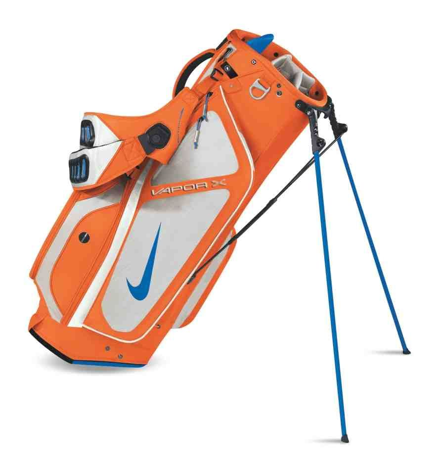 Orange Nike Golf Bag