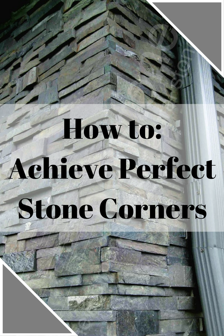 On A Tile Or Stone Job Corners Are Not Only Where Things Come Together But Also Where Details Stand Out Let S Talk About The Dif Diy Stone Veneer Corner Unit